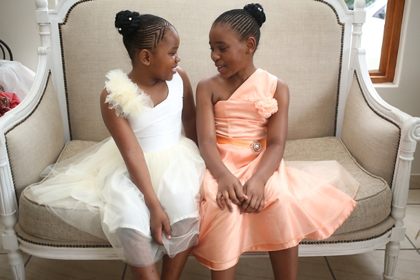 Pretty Peach \u0026 Traditional Zulu Weddings by Vita Bella