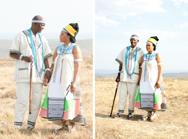 Xhosa cultural wedding