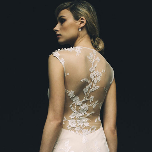you know i thought was in love with south african born london based wedding dress designer