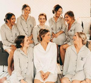 bridesmaid shirts for getting ready