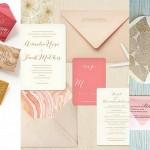 Marbled Wedding Invitations