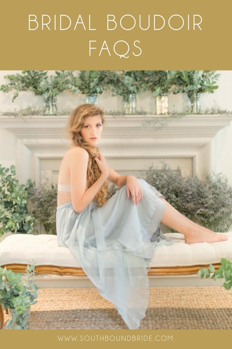 Bridal Boudoir FAQs | SouthBound Bride