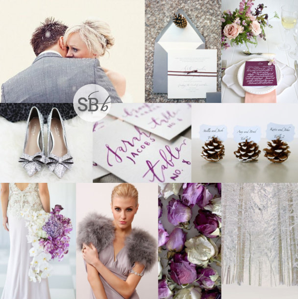 Top Row L R Bride Groom Invitation Suite Place Setting 2 Silver Shoes