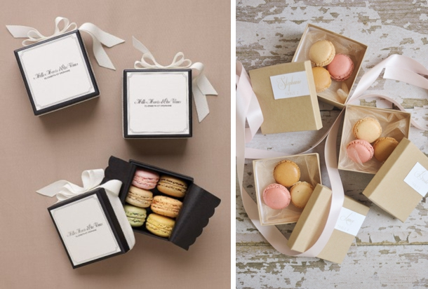 Macaron Wedding Favors Southbound Bride