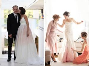 Places That Dye Wedding Dresses 003 Southboundbride Dip Ombre