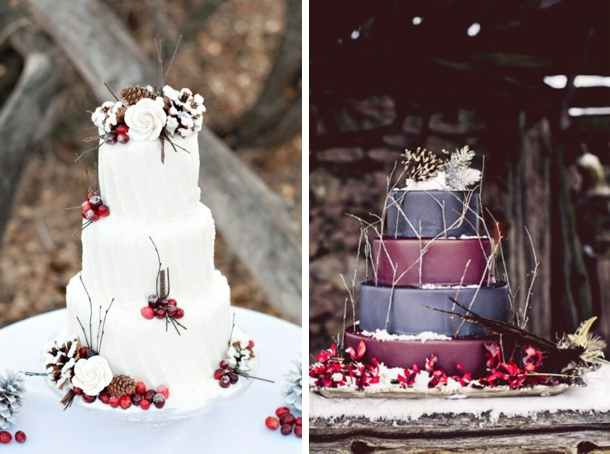 wedding cake ideas rustic 15 rustic winter wedding cakes 22934