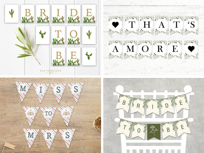 15 Free Printables For Bridal Showers Hen Nights