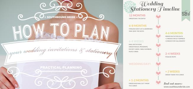 Wedding Timeline Invitations: Wedding Invitations & Stationery Timeline