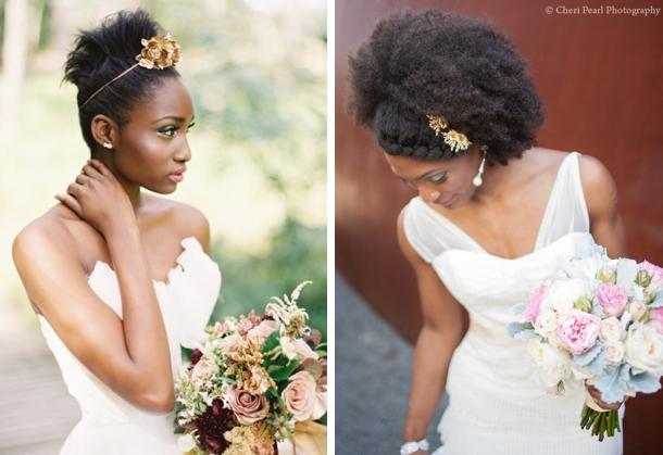 Black Natural Wedding Hair Inspiration