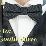 SouthBound Guide: How to Pin a Boutonnière
