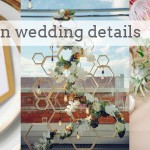 Hexagon Wedding Details