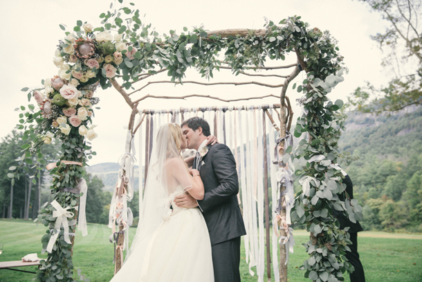 Wedding Ceremony Ideas Flower Covered Wedding Arch: Floral Ceremony Arches