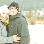 Cozy Winter Engagement Shoot by Angie Capri