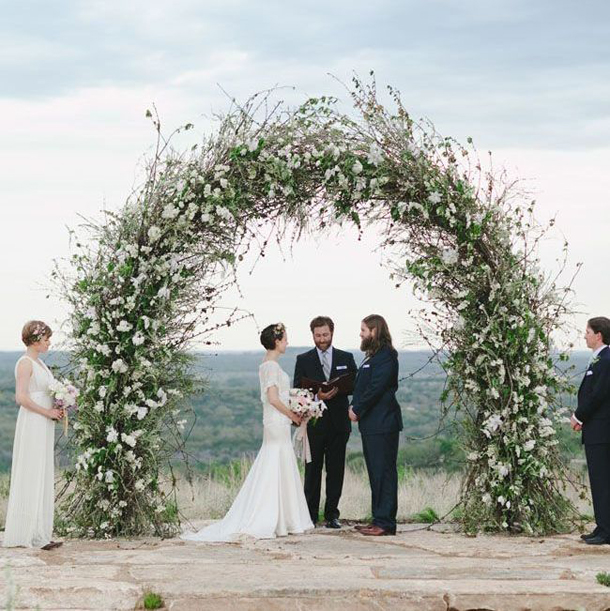 7 Gorgeous Wedding Altar Decorations That Aren T Any: Floral Ceremony Arches