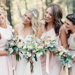 Mismatched Blush Bridesmaid Inspiration from Forever 21