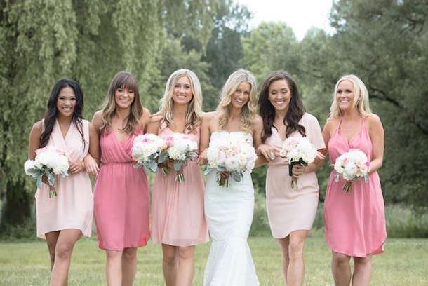 Pink & Blush Bridesmaid Dresses | SouthBound Bride