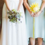 Sunny Paper Flower Wedding at Old Mac Daddy by Dear Heart Photos {Cornelia & Paul}