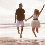 Beach Monochrome Engagement Shoot by Dillon Kin