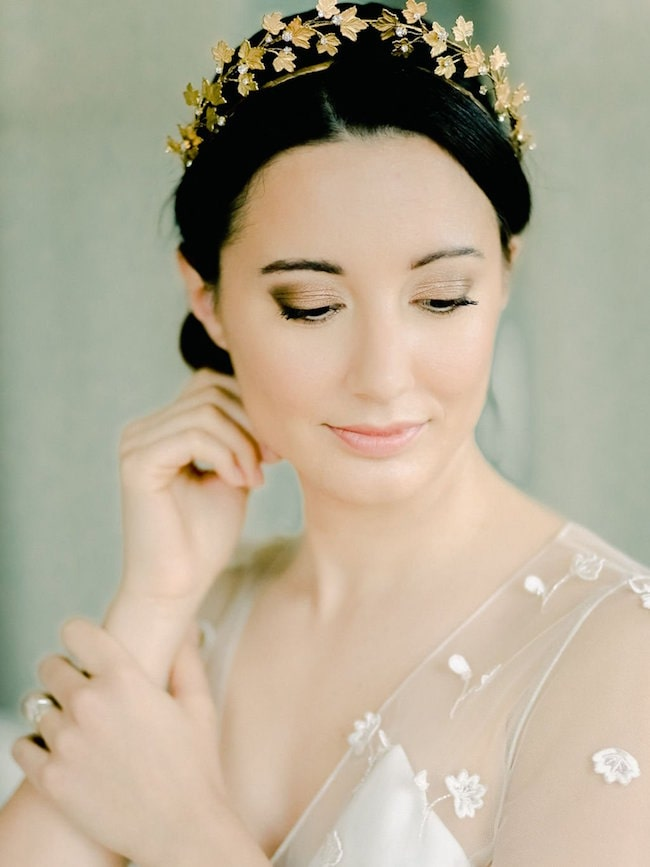 ivy bridal hairpiece