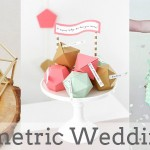 Geometric Wedding DIY Roundup