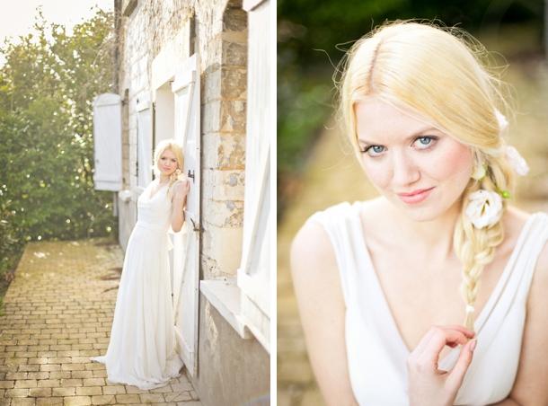 Bridal braid with flowers | Credit: Anneli Marinovich (21)