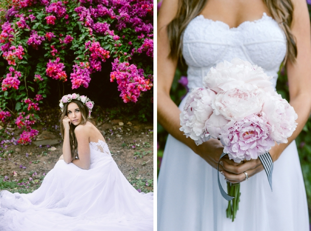 Pink Peony Bouquet | Credit: Lad & Lass