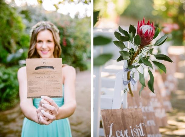 Joyous Garden Wedding at Jex Estate | Credit: Lad & Lass