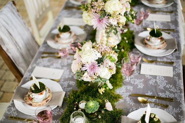 Whimsical Woodland Wedding Table Decor | Credit: Anneli Marinovich (15)