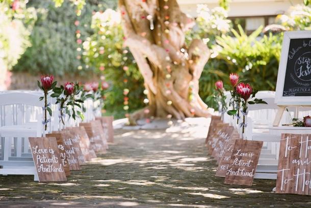 Outdoor Wedding Ceremony | Credit: Lad & Lass