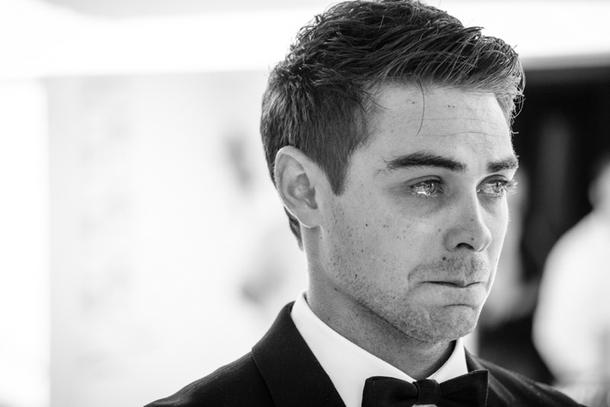 Emotional Groom at Wedding Ceremony | Credit: Lad & Lass