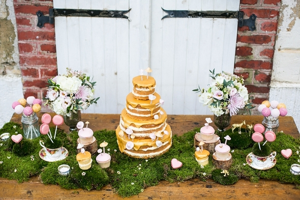 Enchanted Forest Wedding Inspiration with Styled Dessert Table | Credit: Anneli Marinovich (7)