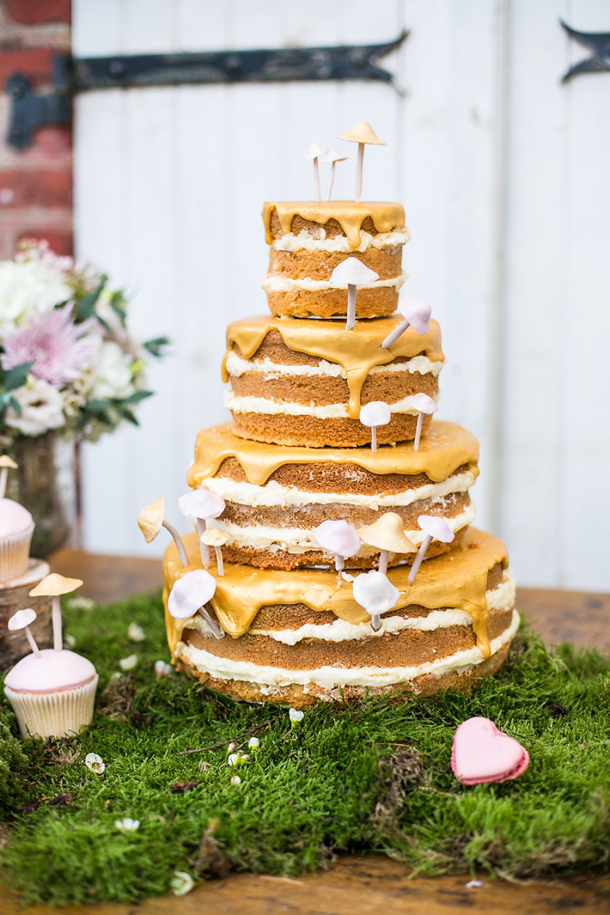 Gorgeous naked cake with caramel drips | Credit: Anneli Marinovich (6)