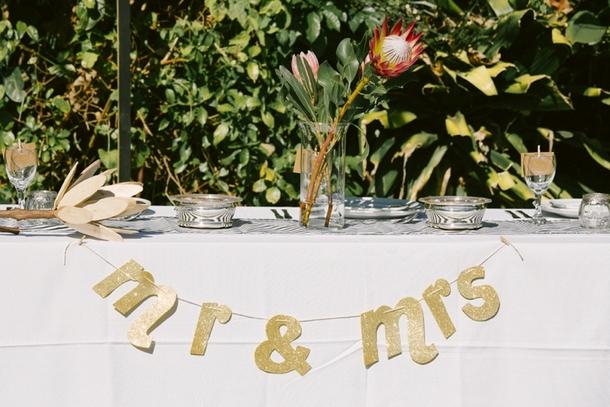 Gold Mr & Mrs Garland | Credit: Lad & Lass