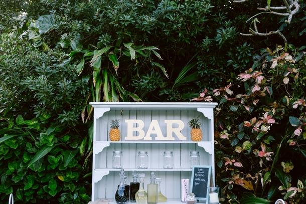 Garden Wedding Bar | Credit: Lad & Lass