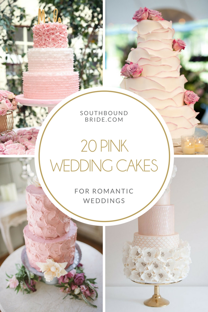 20 Pink Wedding Cakes