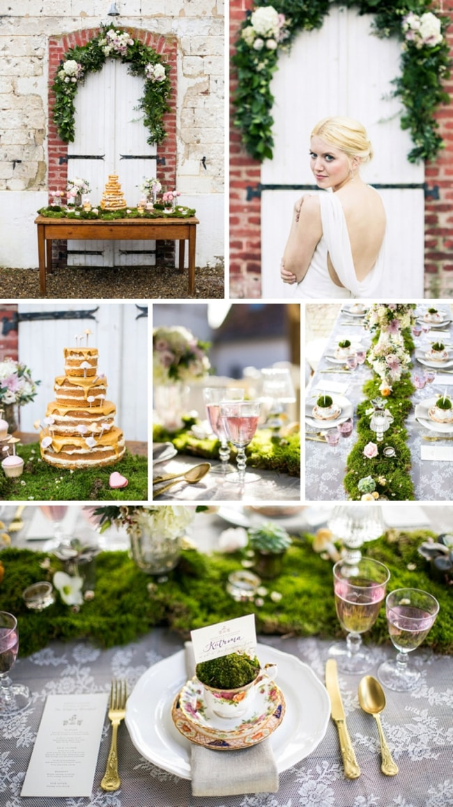 Whimsical Woodland Wedding Inspiration by Anneli Marinovich | SouthBound Bride