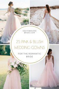 Pink & Blush Wedding Dresses
