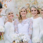 Chic White Winter Wedding at Rockhaven by Kristi Agier {Ashton & Nic}