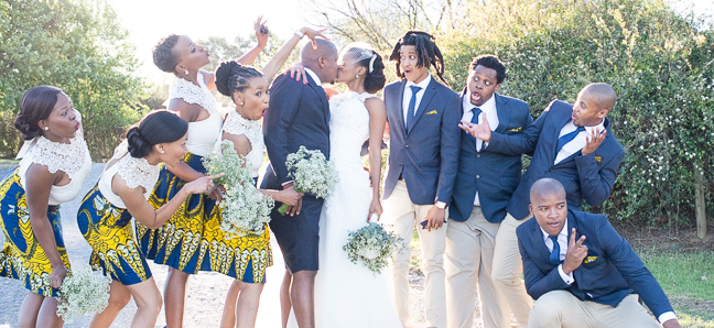 Sunny African Print Wedding By Cc Rossler Southbound Bride