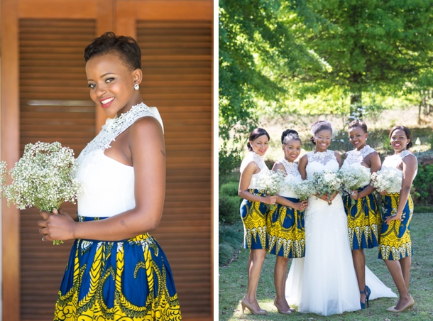 Sunny African Print Wedding At The Glades By Cc Rossler Tumi Moe