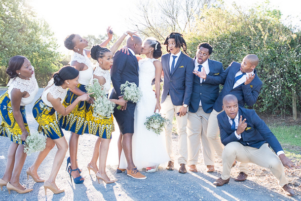 Sunny African Print Wedding By CC Rossler