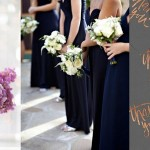 Inspiration Board: Copper, Orchid & Navy