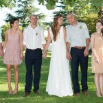 Peaches & Cream Summer Wedding at Langkloof by Michelle van Heerden {Chloe & Keith}