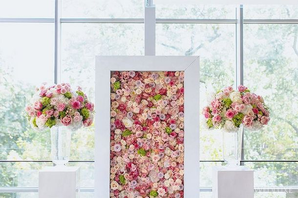 wedding flower walls backdrops southbound bride. Black Bedroom Furniture Sets. Home Design Ideas