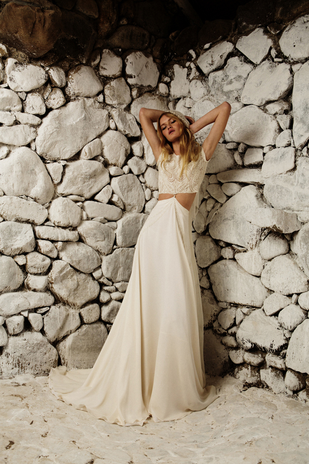 Bo Luca Embodies A Refreshingly Free Spirited Approach To Bridal Wear The Garments Are Defined Through Fusion Of Flowing Silk Crepes And Georgettes