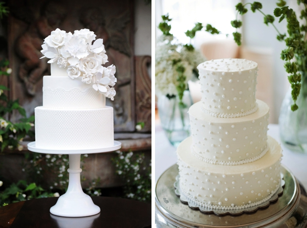 Beautiful White On White Wedding Cakes Images - Styles & Ideas 2018 ...