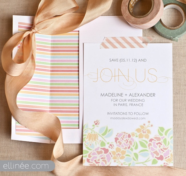 Free Save The Dates Templates