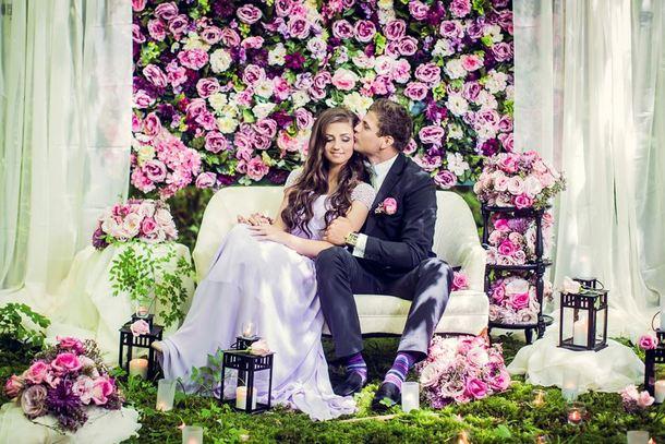 007 Southboundbride Wedding Trend Flower Walls Backdrop