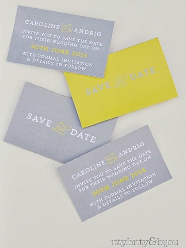 Free Save The Dates Cards