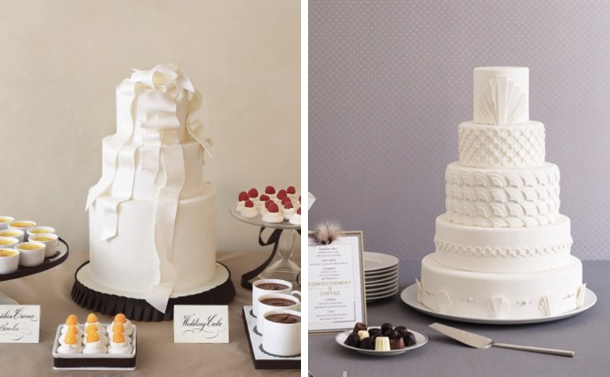 Bobbette and belle wedding cakes